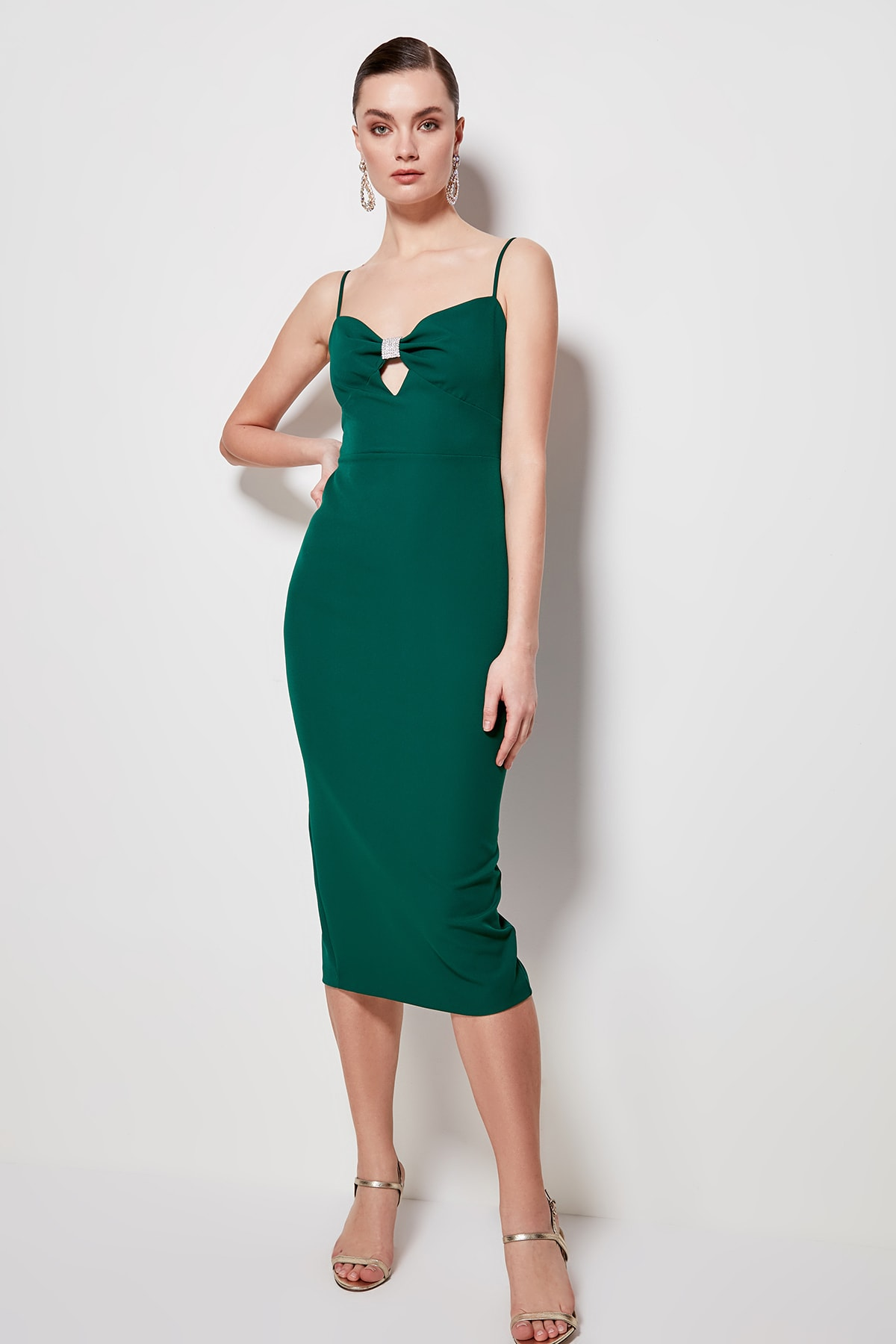 Trendyol Accessory Detailed Dress TPRSS20EL0756