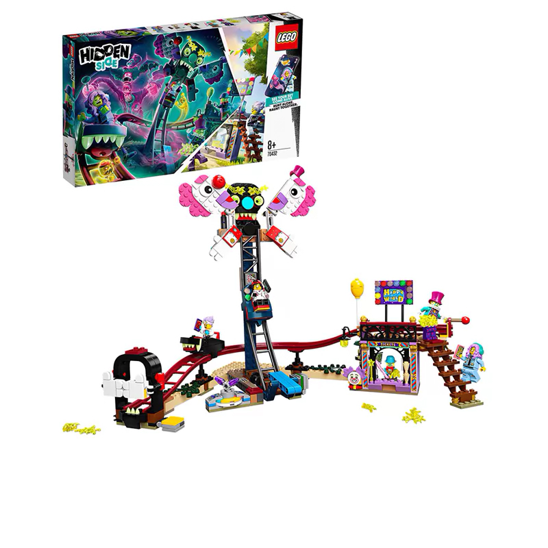 Designer Lego Hidden Side 70432 Phantasmal Fair