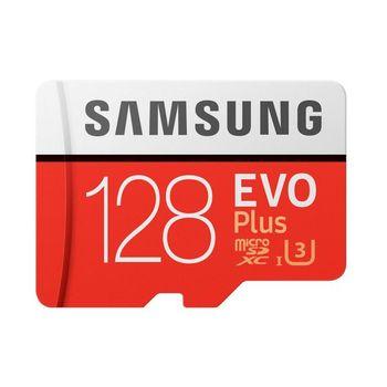 بطاقة مايكرو SD سامسونج EVO Plus MB-MC128G 128 GB أحمر أبيض