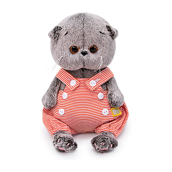 Soft Toy Budi Basa Cat Basik BABY Sandbox, 20 Cm