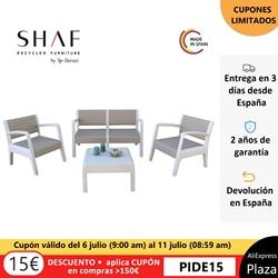 SHAF - Set MIAMI in color stone, vison или antracite-идеально подходит для любой террасы или простора Conjunto de jardin de foreign