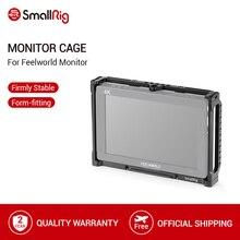 SmallRig 7 Cal Monitor klatka dla Feelworld T7 703 703S i F7S Monitor klatka ochronna z szyną Nato gwintowanie otworów 2233