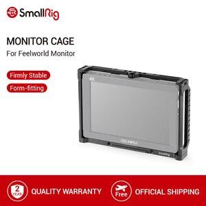 Image 1 - SmallRig 7 Cal Monitor klatka dla Feelworld T7 703 703S i F7S Monitor klatka ochronna z szyną Nato gwintowanie otworów 2233