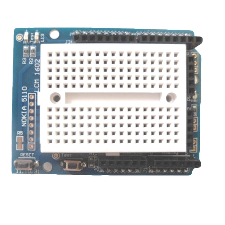 Prototyping Prototype Shield ProtoShield with Mini Breadboard for Arduino sla sls 3d printing rapid prototype cnc plastic prototype rapid prototyping