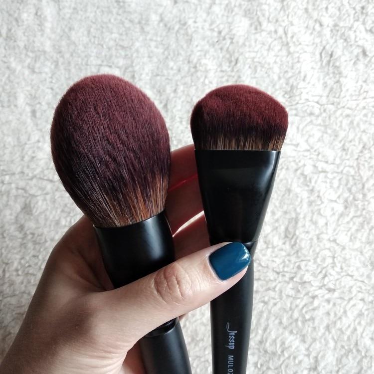 Jessup New Arrival Makeup brushes brushes Phantom Black 3-21pcs Foundation brush Powder Concealer Eyeshadow Synthetic hair reviews №2 49086