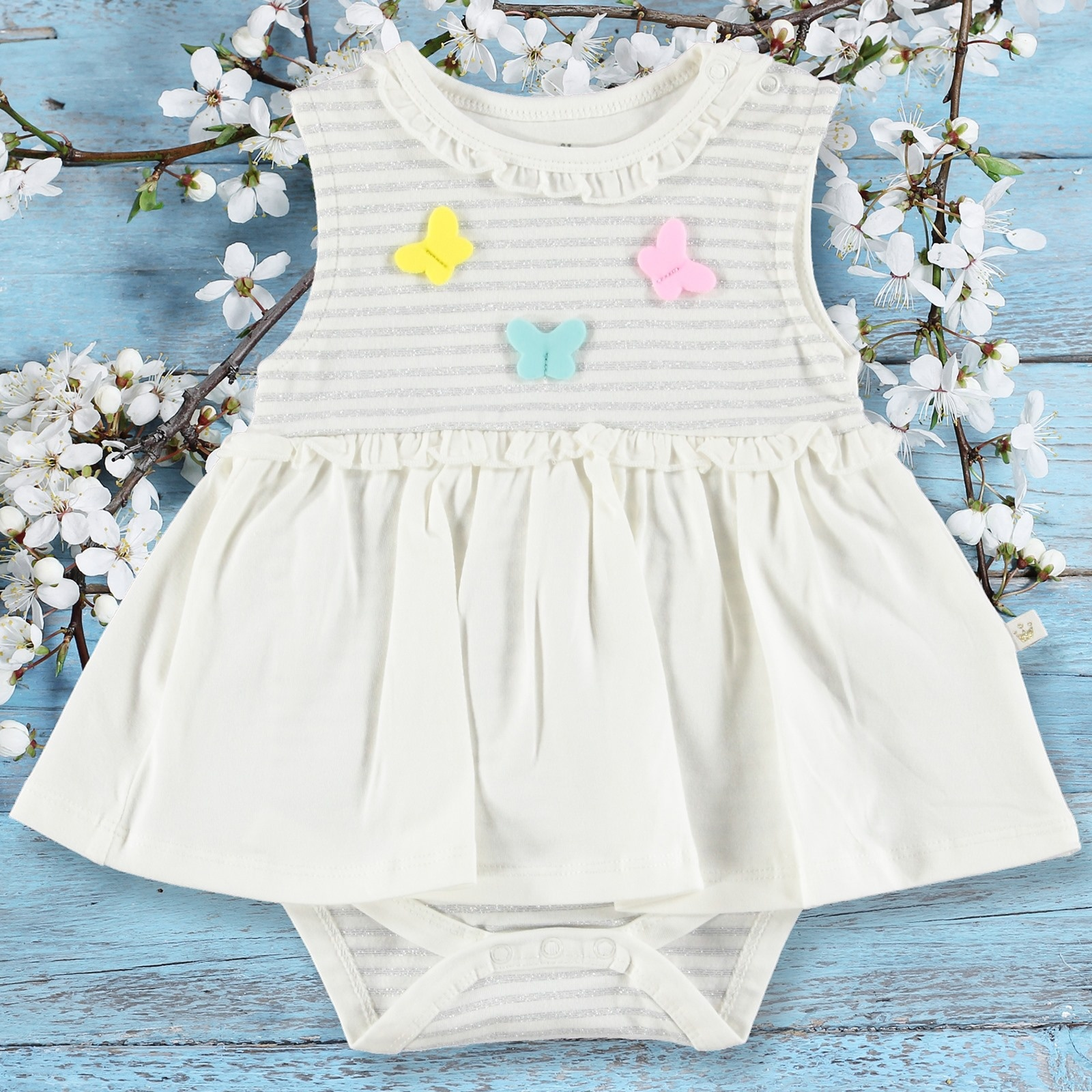 Ebebek For My Baby Girl Mariposa Dress Bodysuit
