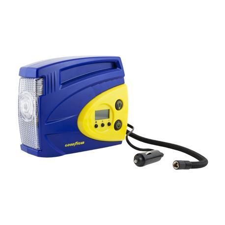 Compresor de aire digital para neumáticos coche 100 psi Good Year