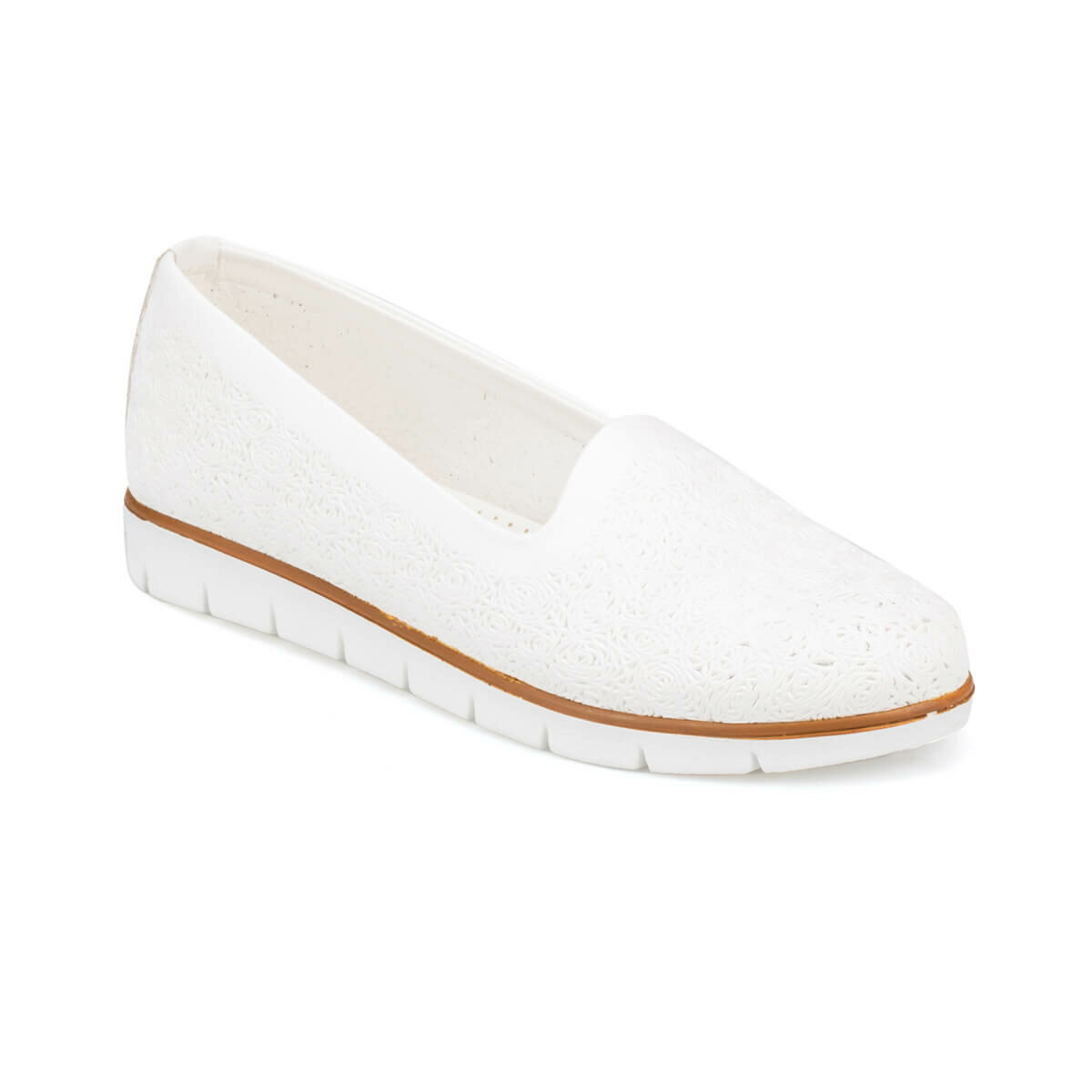 FLO 91. 150694.Z White Women 'S Shoes Polaris