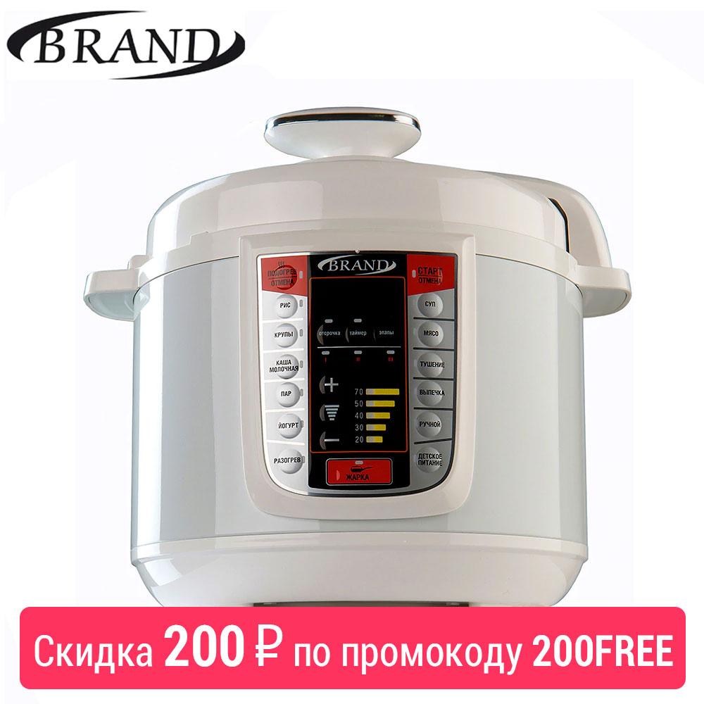 Brand6051 panela de pressão elétrica, 5l, multivarka cozinhar panela de arroz rápido, controle digital, multicooker