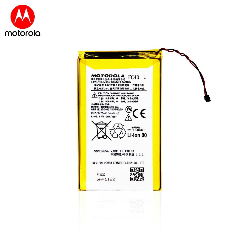 Оригинальный аккумулятор для смартфона Motorola Moto G3 (XT1540, XT1541, 3,8 в, 2470 мАч, FC40)