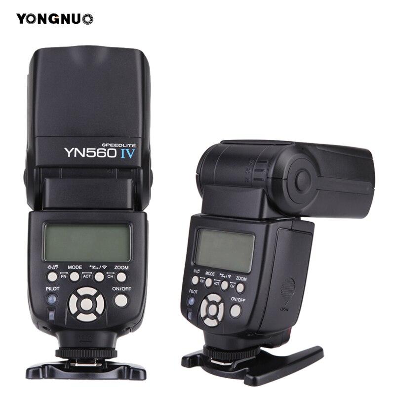Вспышка YONGNUO Speedlite YN 560 III IV, беспроводная вспышка для камер Nikon Canon Olympus Pentax DSLR