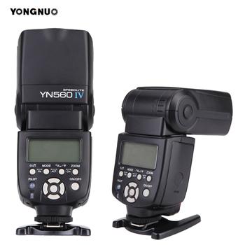 YONGNUO YN 560 III IV bezprzewodowa lampa błyskowa Speedlite dla Nikon Canon Olympus Pentax DSLR lampa błyskowa Speedlite oryginalna tanie i dobre opinie YN560 IV SONY Lumix 366g 12 9oz 20 * 7 * 5 5cm 7 9 * 3 0 * 2 2in 5600k Flash Speedlite 4* AA size batteries (not included)