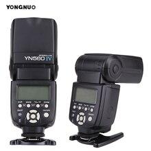 YONGNUO YN 560 III IV bezprzewodowa lampa błyskowa Speedlite dla Nikon Canon Olympus Pentax lustrzanka cyfrowa lampa błyskowa Speedlite oryginalna