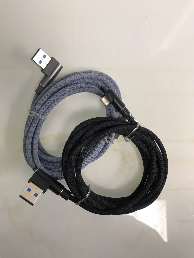 1M 2M 3M 90 Degree USB Data Charger Fast Cable for iPhone X XR XS MAX 5 5S SE 6 S 6S 7 8 Plus iPad Phone Origin long Cord Charge|Mobile Phone Cables| |  - AliExpress
