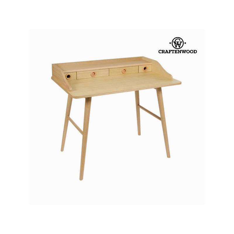 Bureau Wood 4 Drawers-Collection Modern By Craftenwood