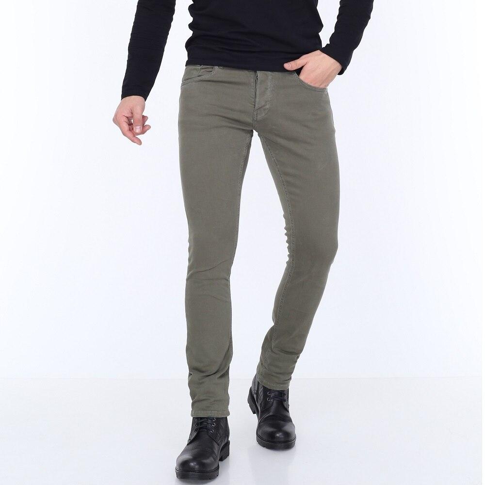 HW 14379 Mens Jeans Slim Fit Stretch, Gift For Men Real European Size, Comfort, Lihgtweigt, Стильный дизайн,Homme Denim Style