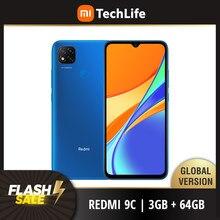 Versão global xiaomi redmi 9c 64gb rom 3gb ram (novo/selado) redmi9c, redmi9c 64, smartphone, celular, telefone