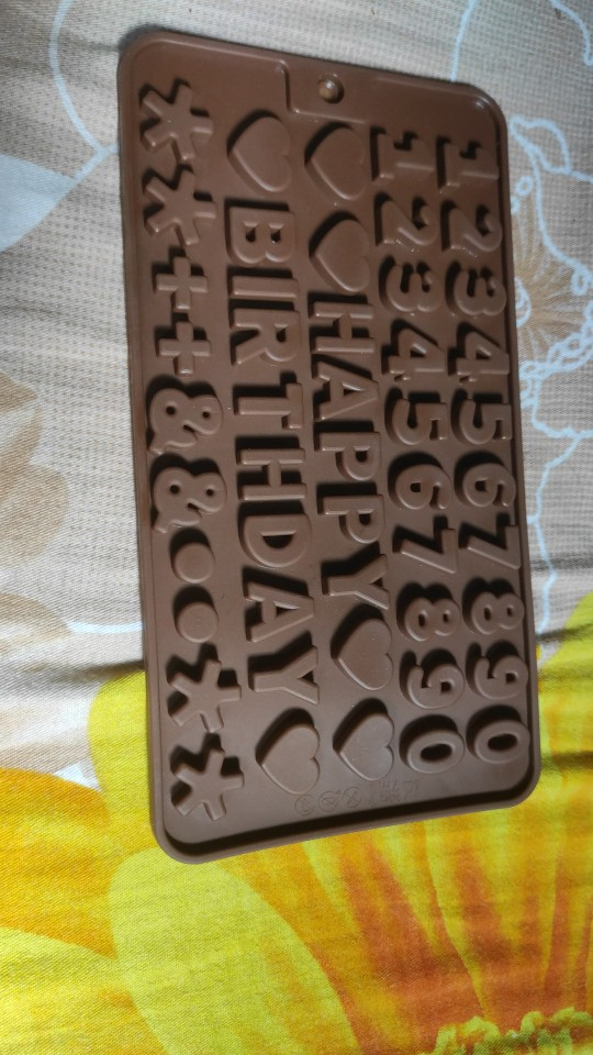 3D Silicone Chocolate Mold photo review