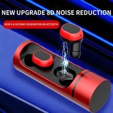 30 adet yeni K1C eylemler 5.0 kablosuz bina TWS bluetooth kulaklık spor mini kulak gürültü azaltma kulaklık