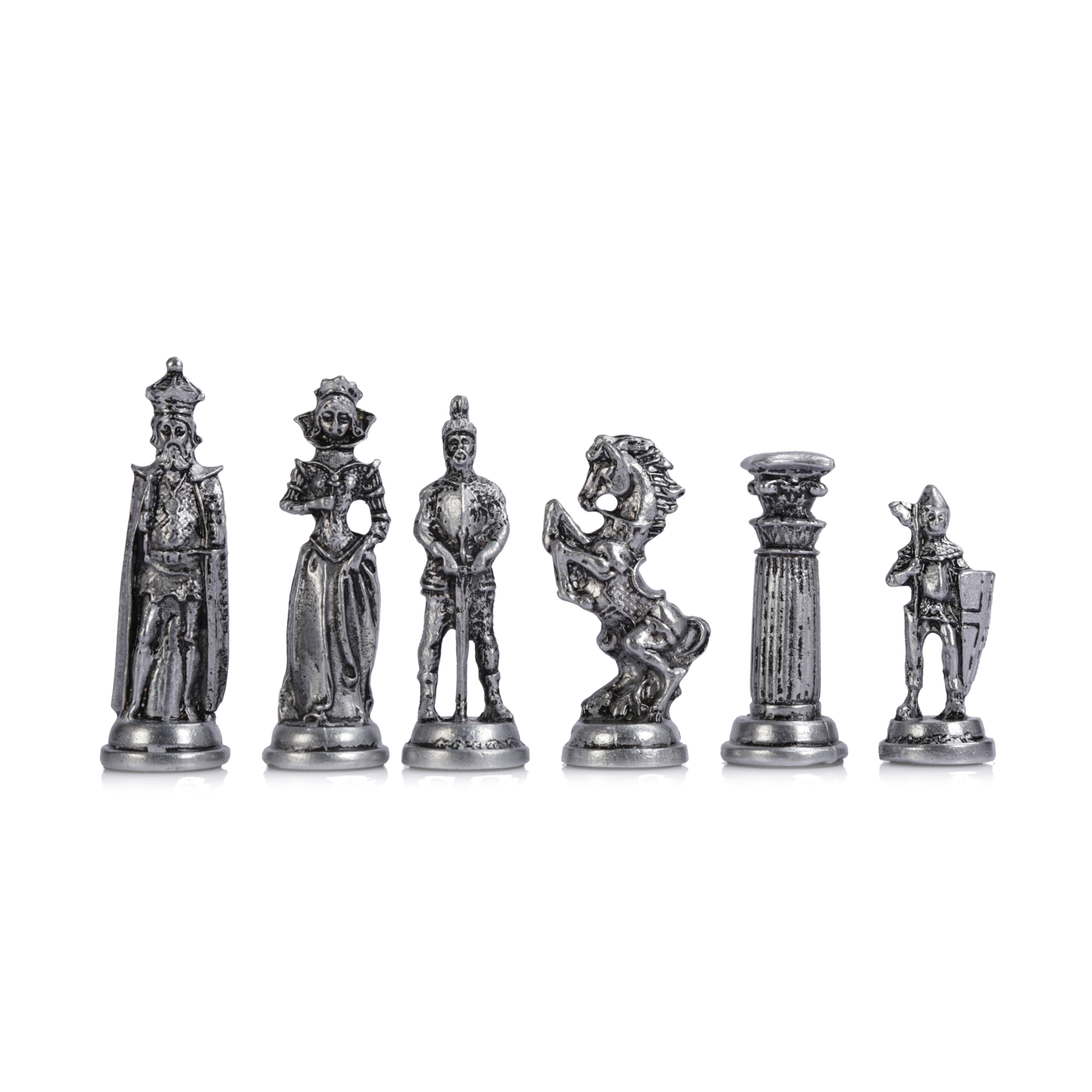 Only Chess Pieces Medieval British Army Antique Copper Handmade Cool Chess Pieces King 9 Cm Inc Board Is Not Included Chess Sets Aliexpress