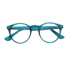 Men Round Glasses Frames for Women Optical Fashion Acetate Prescription Eyeglass Frames Red Yellow Blue Classic Eyewear T005