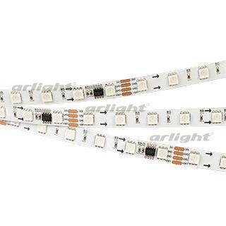 027613 Ribbon SPI-5000SE-AM 24V RGB 5060 60 LED/M, X6) [Closed, IP65]...