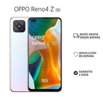 Перейти на Алиэкспресс и купить OPPO Reno 4 Z 5G 8 ГБ/128 ГБ, смартфон, двойная фронтальная камера, экран 6,57 дюйма, Процессор MTK MT6873V, 4000 мАч, OS Color 7,2