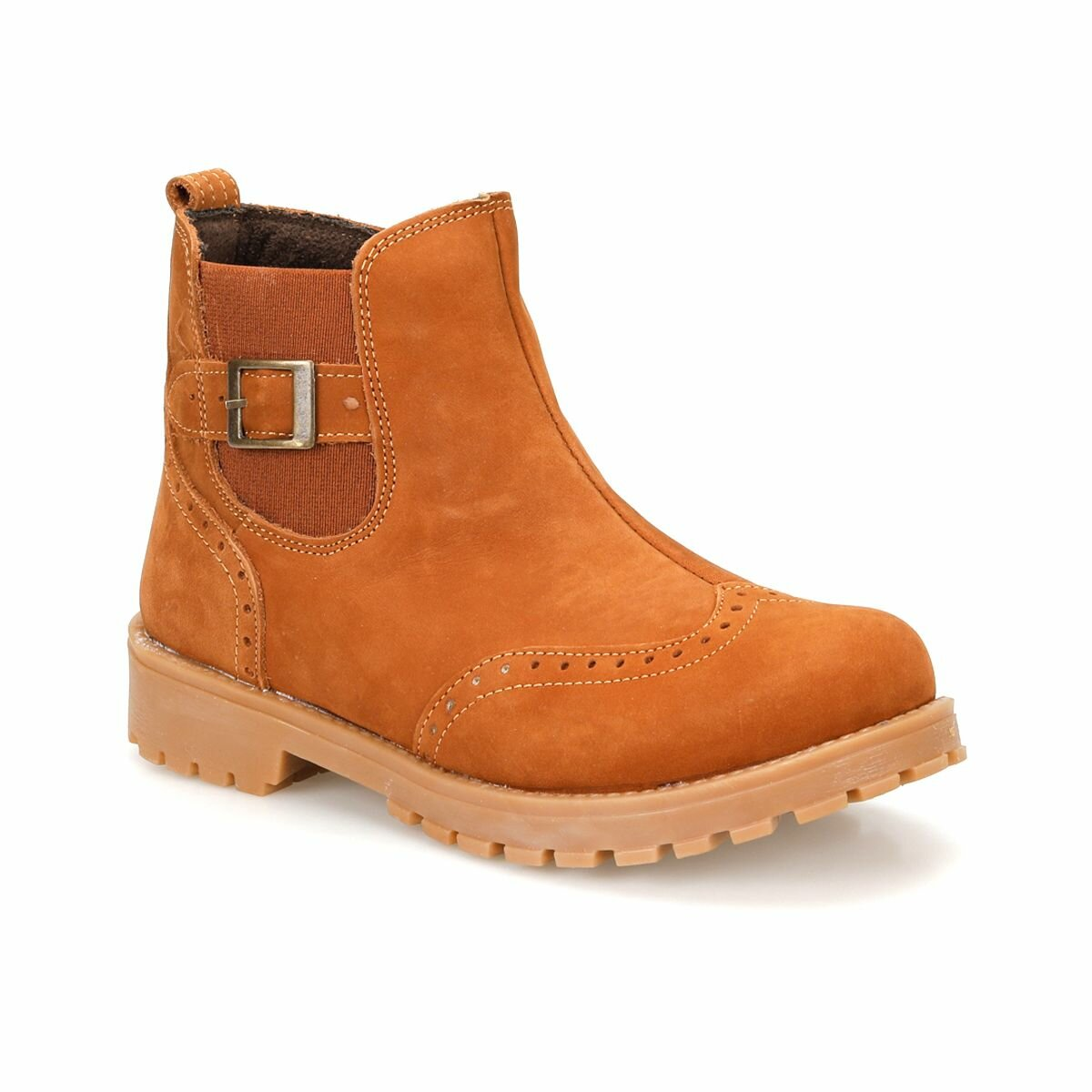 FLO 82.510625.F Brown Male Child Boots Polaris