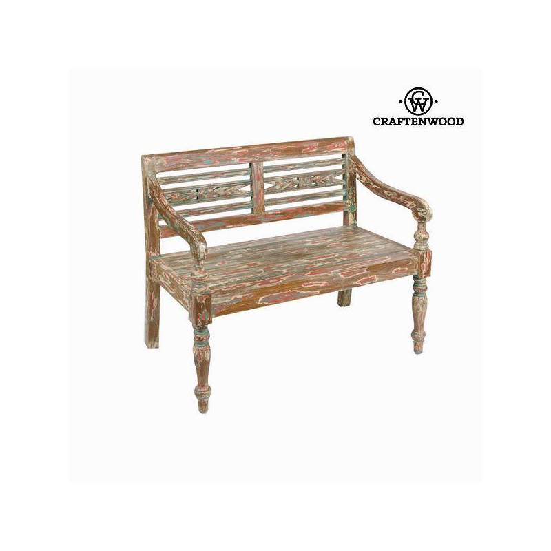 Bank Backed Acacia Wood (99x55x87 Cm) By Craftenwood