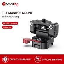 Smallrig dslr câmera liberação rápida evf montagem 5 Polegada/7 Polegada monitor suporte placa de montagem com braçadeira da nato 2100