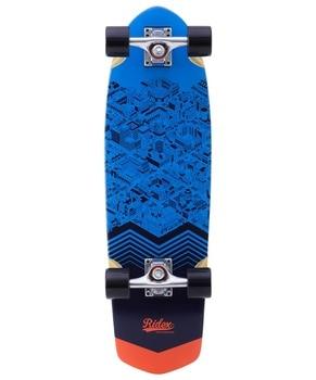 Skateboard cruiser wooden ridex 28.5 x 8.25, abec-5, citizen круизер ridex california цвет бирюзовый 68 5 х 20 см abec seven chrome