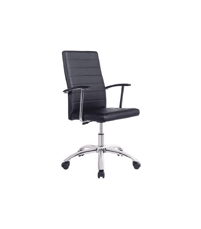 Office Chair Look Color Black