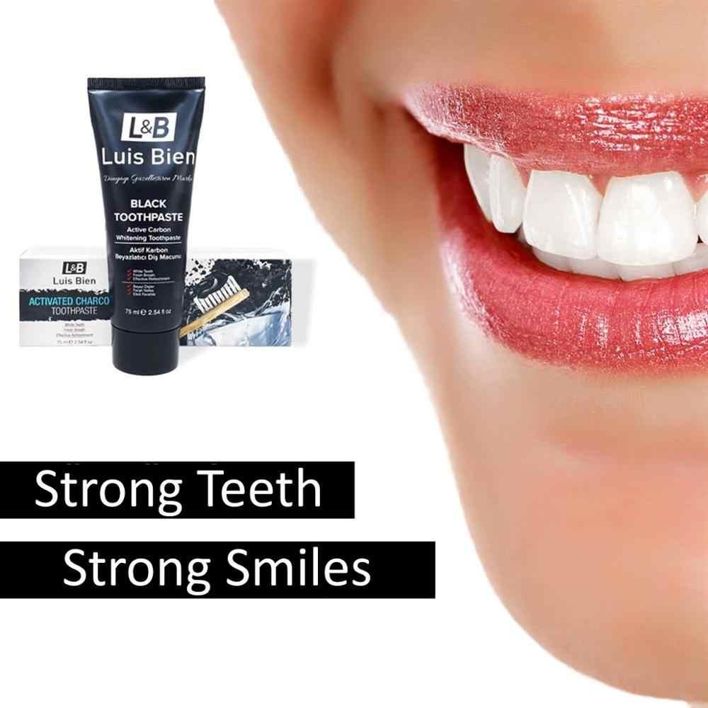 Luis Bien 75 Ml Teeth Whitening Oral Care Charcoal Toothpaste
