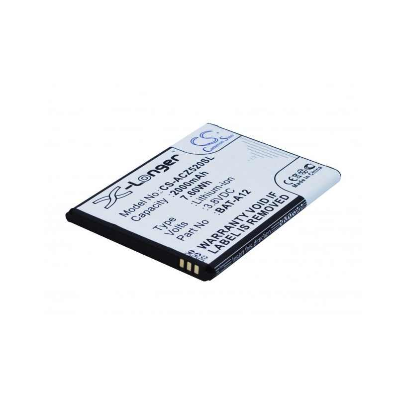 Аккумулятор CameronSino CS-ACZ520SL (Acer Liquid Z520 Duo) 2000mAh 1ICP4/51/65, BAT-A12, KT.00104.002, PDD-612