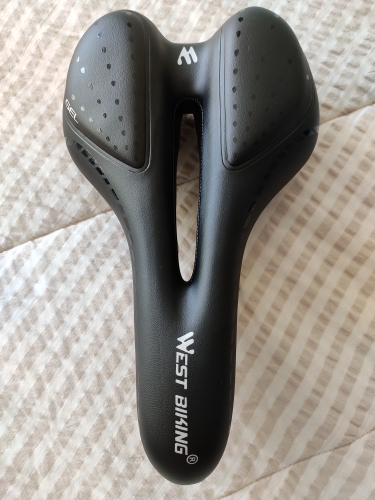 Breathable PU Leather Bicycle Saddle photo review