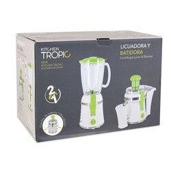 2-in-1Blender Kitchen Tropic MKT92230 300W White Green