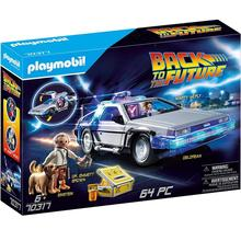Playmobil-Figures Einstein Marty Mcfly Back-To-The-Future Original Delorean Brown Doc