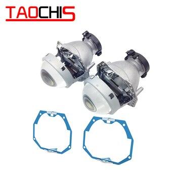 TAOCHIS Car Styling frame adapter Hella 3r G5 Projector lens retrofit for INFINITI EX AFL 2007 - 2014