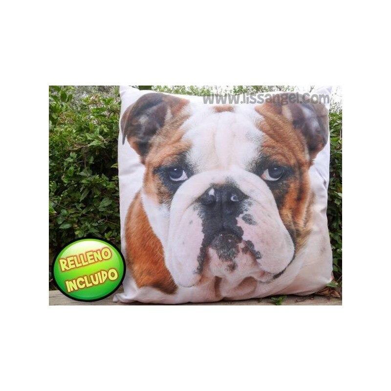 Bulldog Cushion 50x50 (Filling Included)
