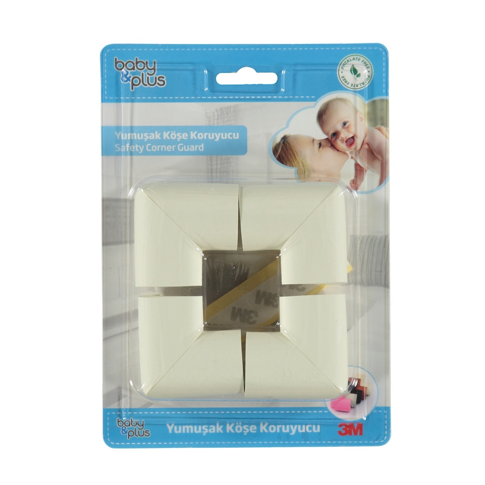 Ebebek Baby&plus Soft Safety Edge Guard 50x50x30 Cm