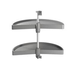 Game trays Shelvo Emuca 1/2 Luna Module voor 900 mm in grijze plastic