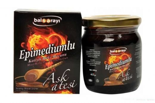 Balsarayi Aphrodisiac Epimedium Turkish Honey Mix (Horny Goat Weed Aphrosisiacs) – Turkish Paste, 230gr