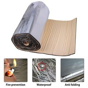 1 Roll 100x40cm 10mm Car Sound Heat Insulation Cotton Soundproof Aluminum Foil Waterproof Anti Dust Noise For Car Interior Part