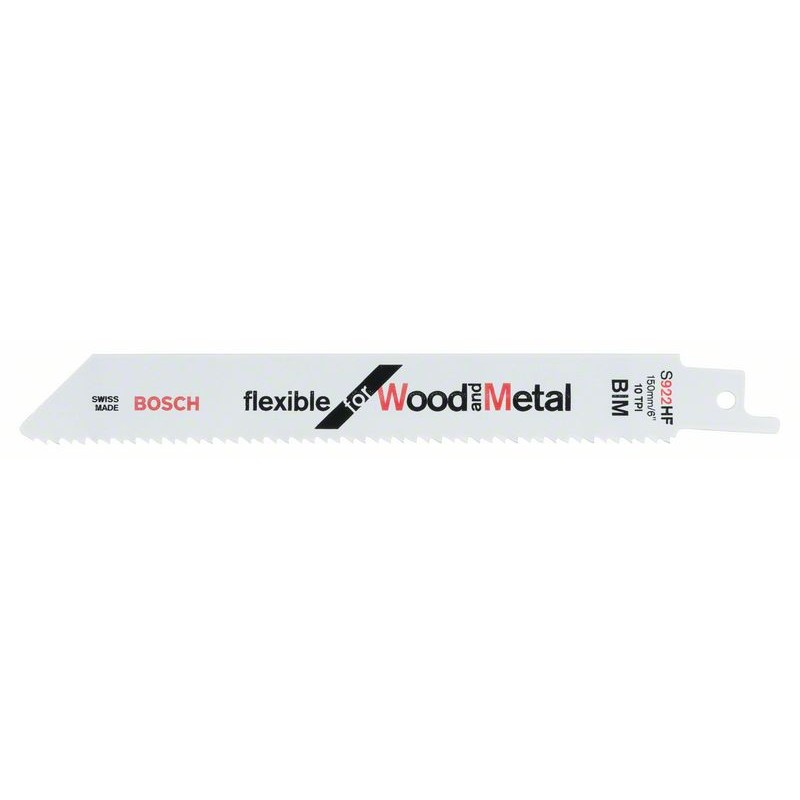 BOSCH-saw Blade Sable S 922 HF Bendable For Wood & Metal