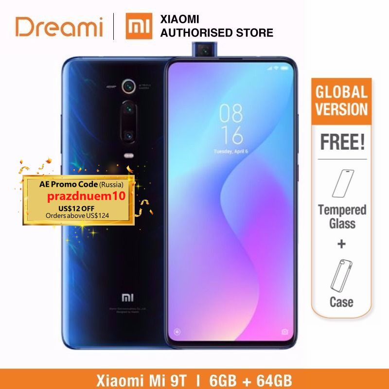 Global Version Xiaomi Mi 9T 64GB ROM 6GB RAM (Brand New/ Official) Mi9t64