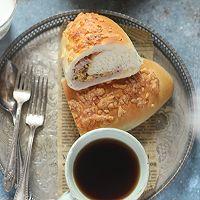 #安佳食力召集,力挺新一年#芋泥肉松面包的做法图解14