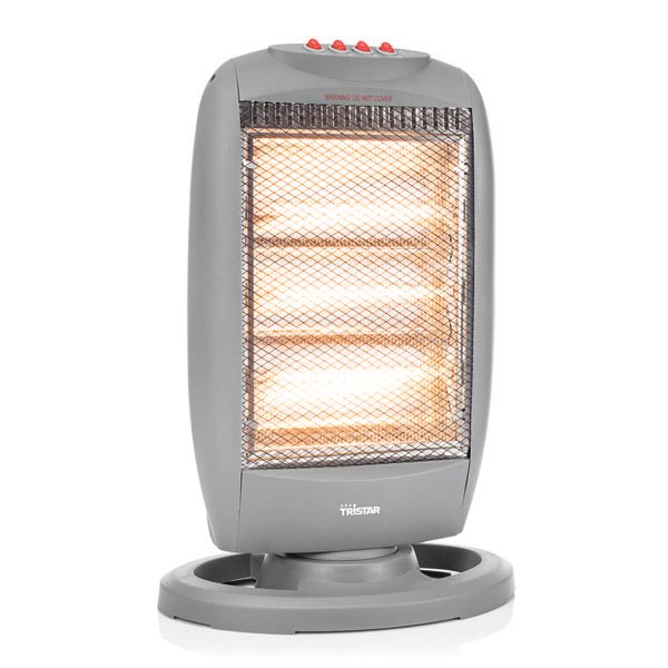 Tristar KA5024 Halogen Electric Heater 1200W Grey
