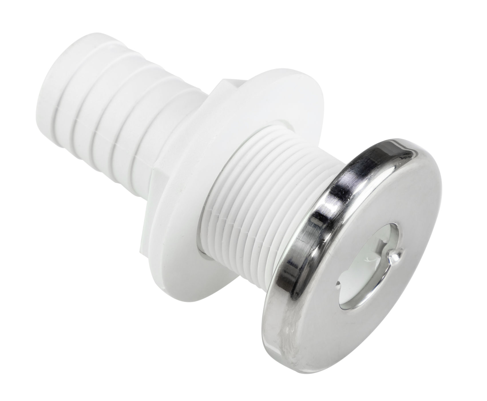 Connector Spillway Plastic With Lid Stainless Steel Hose 29mm 2560429400