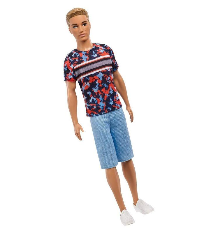 Barbie Fashionista-Ken Doll Brown With Bermuda Texas Toy Store Articles Created Handbook