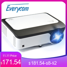 Everycom L6 1080p Full HD Projector Native 1920*1080 Mini Portable LED Video Projectors WIFI Smart Android Beamer For Iphone